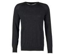 TERRY Strickpullover grey street