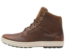 Sneaker high brandy/tobacco