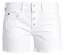 ARC BTN BF SHORT WMN - Jeans Shorts - white
