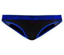Slip black/blue