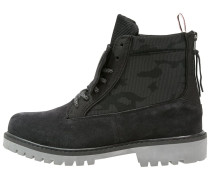 HIBACHI Schnürstiefelette deep black/charcoal/cool grey