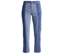 Jeans Straight Leg blue denim