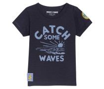 CATCH SOME WAVES - T-Shirt print - blue