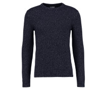 ANDREW Strickpullover navy