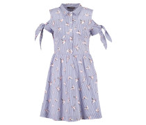 STRIPE BIRD - Blusenkleid - blue