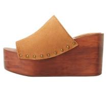 DAMALI - Pantolette hoch - brown