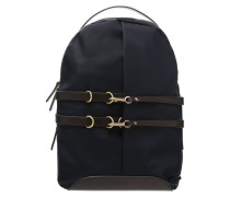 SPRINT Tagesrucksack navy/dark brown