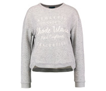 Sweatshirt - mid grey melange