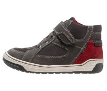 BARNEY Sneaker high charcoal/dark red