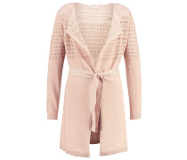 BABRA - Strickjacke - rose dust melange