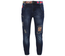 PETRA Jeans Relaxed Fit denim dark blue