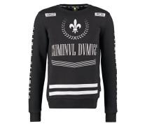 Sweatshirt black/white