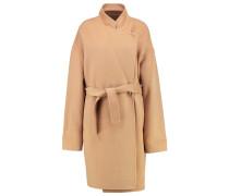 COMICHE Wollmantel / klassischer Mantel beige