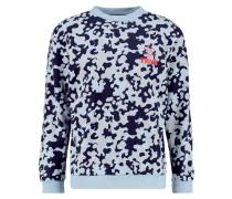 Sweatshirt mottled blue