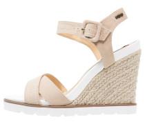High Heel Sandaletten taupe