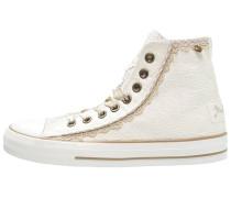Sneaker high ecru