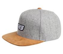 Cap - heather grey brown