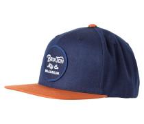 WHEELER Cap navy/orange