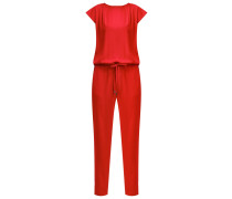 KLARA Jumpsuit cranberry red