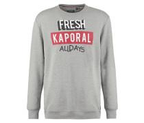 MERLO Sweatshirt light grey melanged