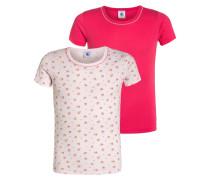 2 PACK Unterhemd / Shirt rose