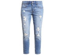 Jeans Relaxed Fit destroyed denim