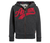 Sweatjacke heather grey