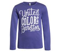 Langarmshirt purple