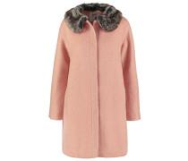 Wollmantel / klassischer Mantel - blush