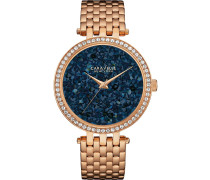 CRYSTALS - Uhr - rosegold coloured/blue