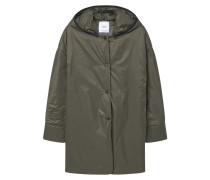 ANDREA Regenjacke / wasserabweisende Jacke dark green