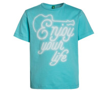 TShirt print turquoise