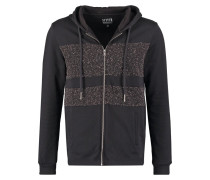 COHORT Sweatjacke black