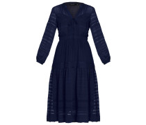 Maxikleid navy