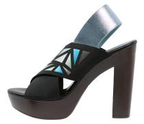 CITA High Heel Sandaletten black/multicolor/blue