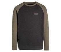 RUTLAND Sweatshirt black heather/grape leaf heather