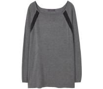 ANNE Strickpullover medium heather grey