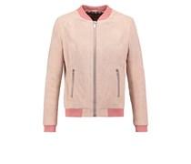 Lederjacke soft pink