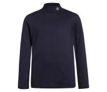 Langarmshirt bleu indigo