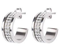 KIMMIE Ohrringe shiny silvercoloured