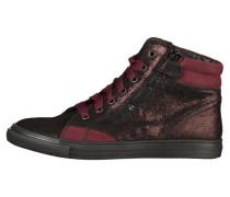 Sneaker high eggplant/port