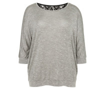 Langarmshirt light grey melange