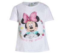 MINNIE TShirt print white