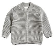 Strickjacke - grey