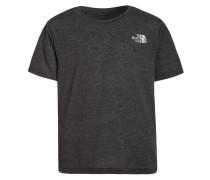 REAXION - T-Shirt print - dark grey heather