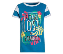 LET´S GET LOST - T-Shirt print - mid blue