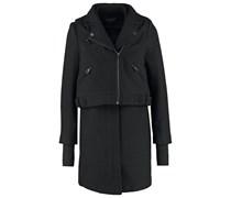 PROMETHEUS 2IN1 Wollmantel / klassischer Mantel black