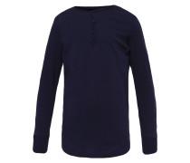 Langarmshirt ink blue