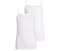 2 PACK Unterhemd / Shirt bright white