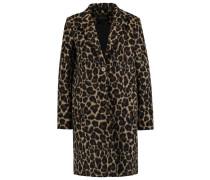 Wollmantel / klassischer Mantel leopard